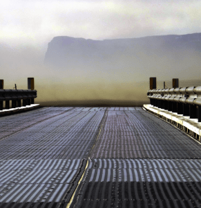 sand-storm-bridge-ending-south-iceland-oraefasveit