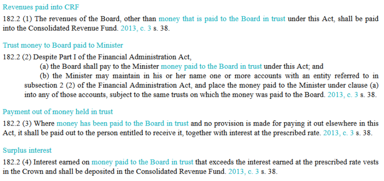 money-paid-to-the-board-in-trust-internal-links
