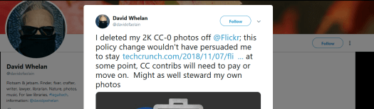 An Open Source Alternative to Flickr for Photo Sharing