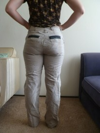 Pants # 4, but I love the back pockets
