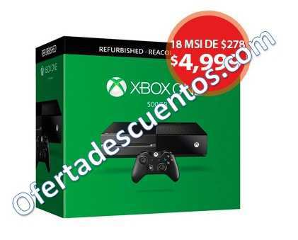 Walmart Black Week Xbox One Refurbished A 4999