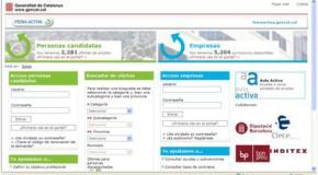 Bolsa de empleo pública online – Cataluña