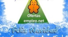 Feliz Navidad desde Ofertas Empleo .net