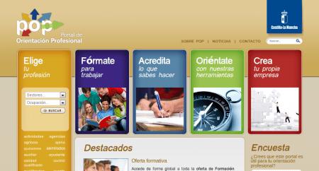Portal de Orientación Profesional JCCM