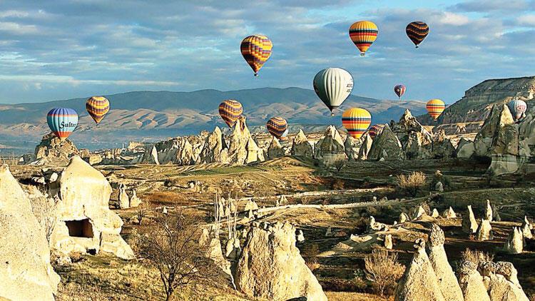 Vacanta 1 – 5 Martie in Cappadocia – 272 EUR/4 nopti/ 2 peroane (zbor, cazare+ mic dejun inclus)
