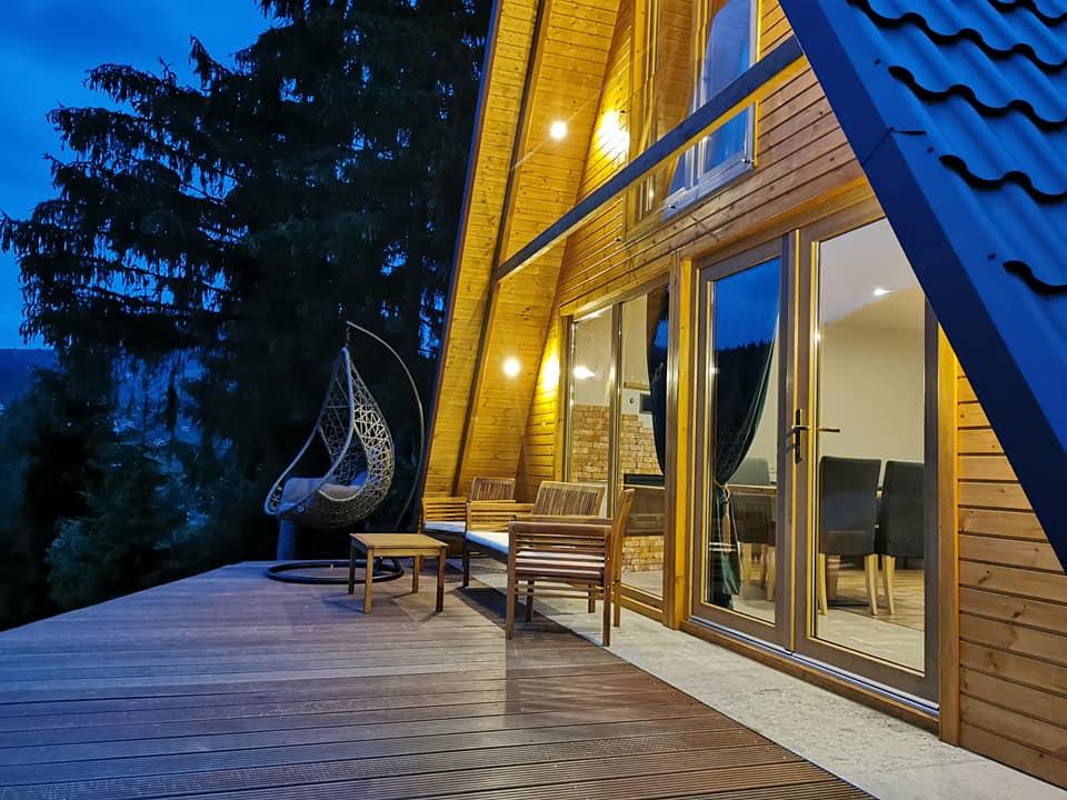 Cabana superba cu o vedere panoramica inedita – Livada 45 – Romania