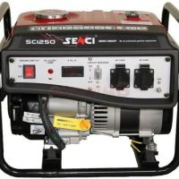 Generator Curent Electric Senci SC1250, 1000W, 230V, AVR inclus, Motor benzina