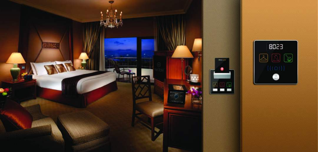 Hotel Automation Bedside Panel