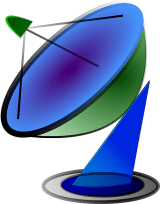 MATV Satellite Dish