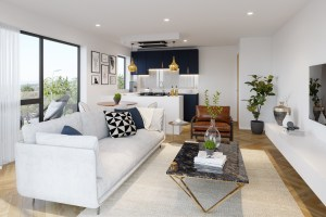 Linen Quarter Apartment 6