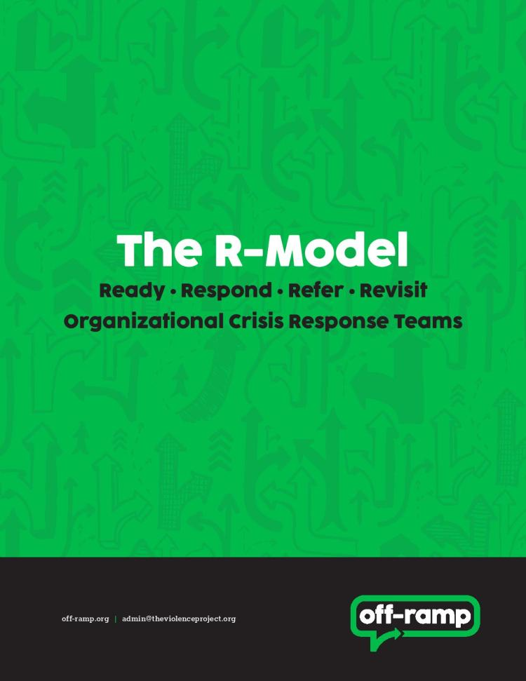 Crisis response teams for workplaces and other organizations