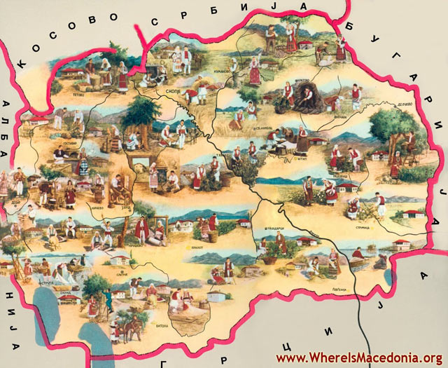 Maps of Macedonia - Explore the various types of Maps of Macedonia