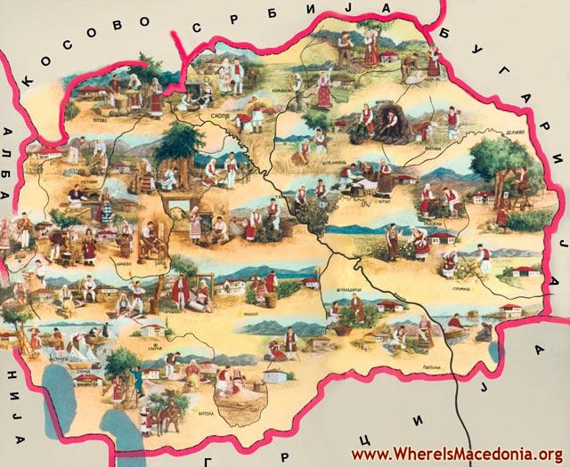 map macedonia