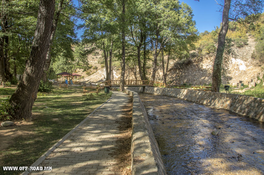 Konjarka – picnic location near village Skocivir – Novaci Municipality