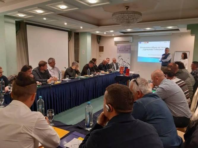 Одржлив туризам - дводневна обука во организација на ЛДА - Струга - 29-30.03.2019