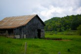 Old barn on the Blue Ridge Parkway
