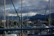 Boats in the Seward Harbor