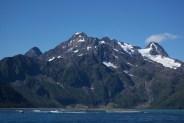 Views in boat in Seward, Alaska