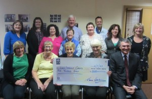 MEP Presents €5,000 To Carers