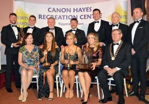 Rowers takes top award at Canon Hayes Sports Awards