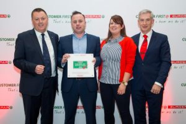 Tipperary Retailer Wins Customer First @ Eurospar Award