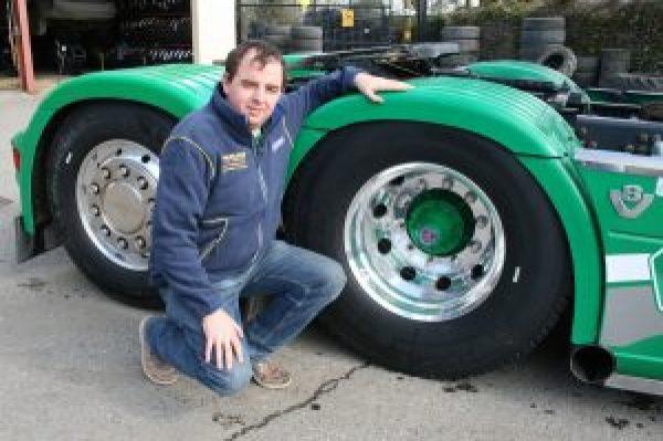 Tipp Truck Owner Praises Michelin Tyres