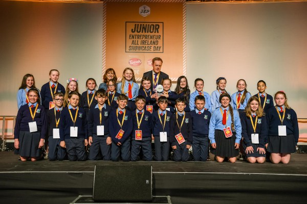 Gaelscoil Durlas Eile Win At Junior Entrepreneur Showcase