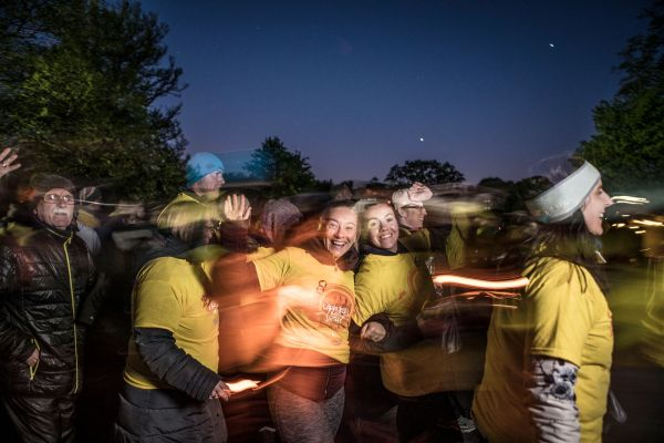 In Tipperary, 7,099 people walked in solidarity in Darkness into Light last year
