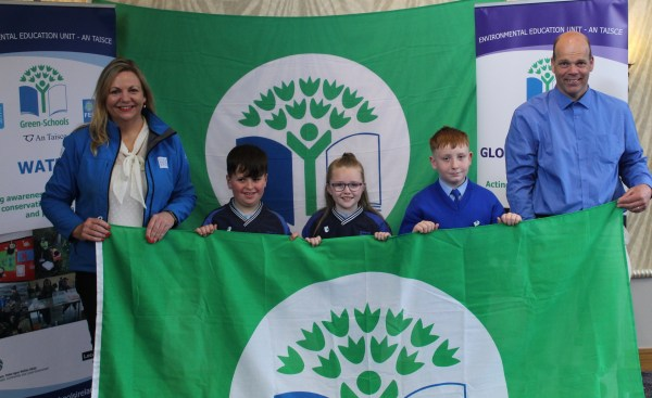 Tipperary schools awarded Green Flag for water conservation