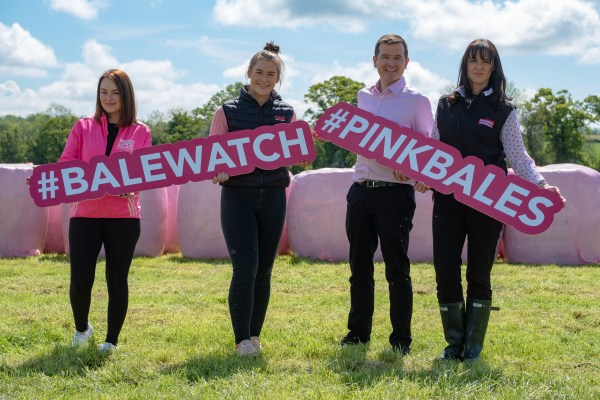 Tipperary farmers urged to support BaleWatch for Breast Cancer Ireland #PinkBales