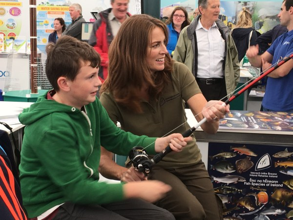Catch your first fish and learn about Ireland's freshwater fish species at the National Ploughing Championships 2019