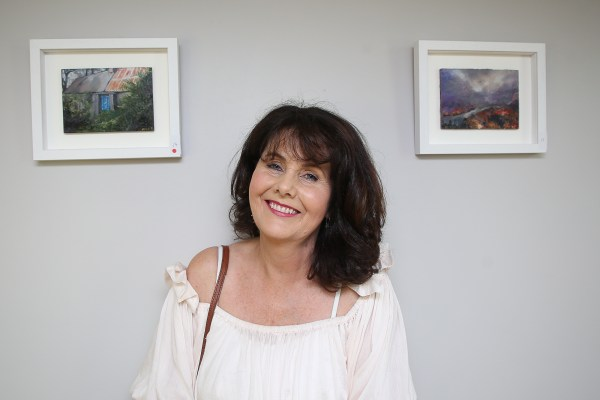 Local artist, Margaret O' Brien exhibits at Nenagh Arts Centre