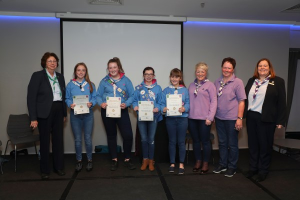Tipperary Girl Guides blaze a trail to Croke Park!