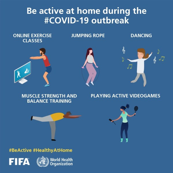 #BeActive for the UN International Day of Sport for Development and Peace