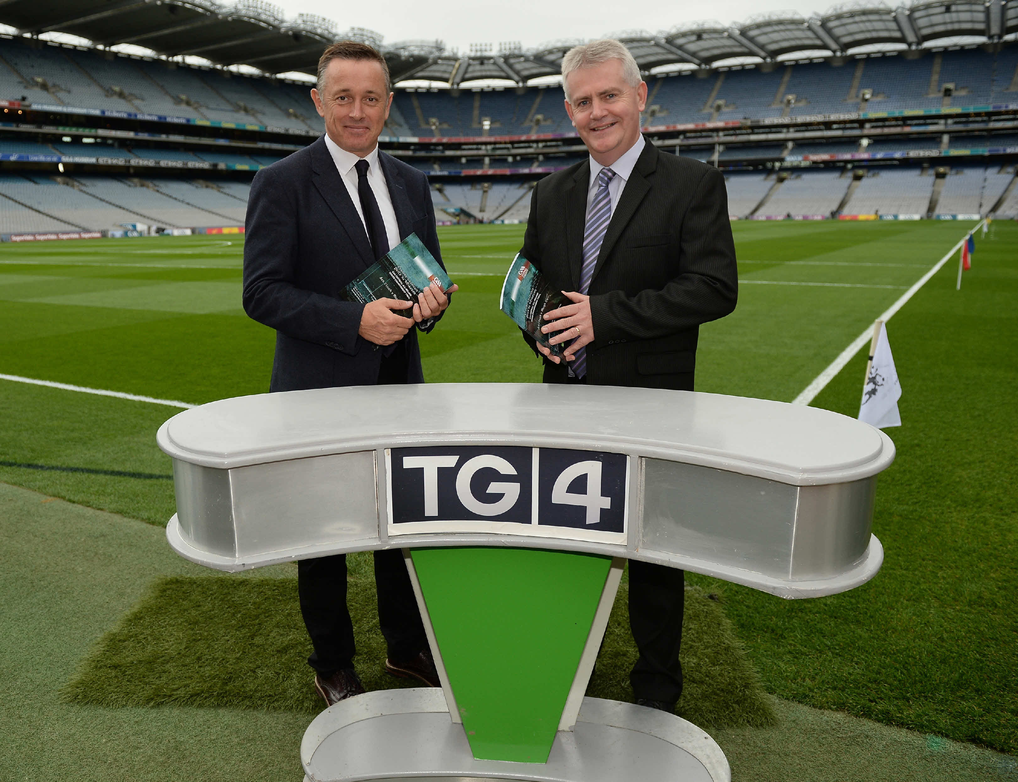 Live GAA back on TG4