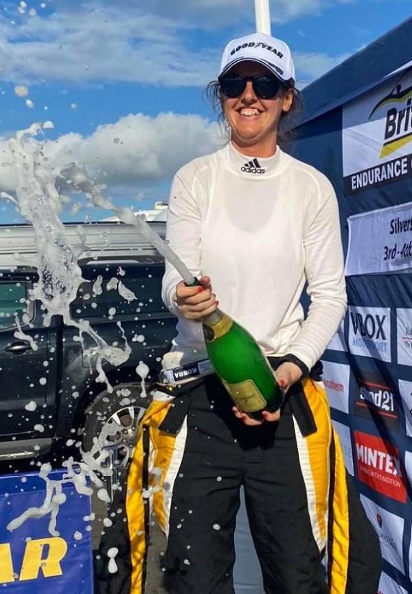 Roscrea's Nicole Drought wins at Silverstone