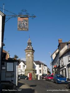 Knighton, home of the Offa's Dyke Centre