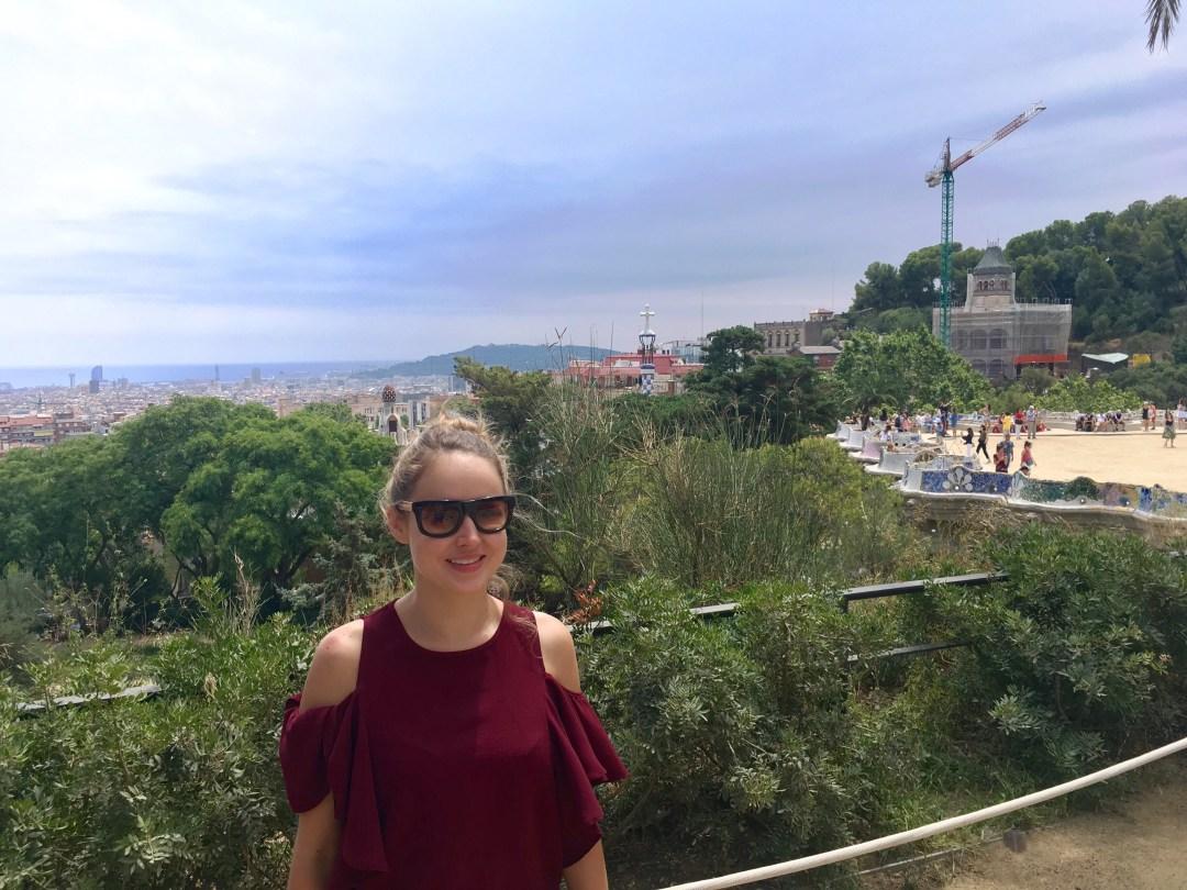 Parc de Guell in Barcelona Spain
