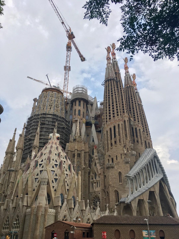 La Sagrada Familia in Barcelona Spain