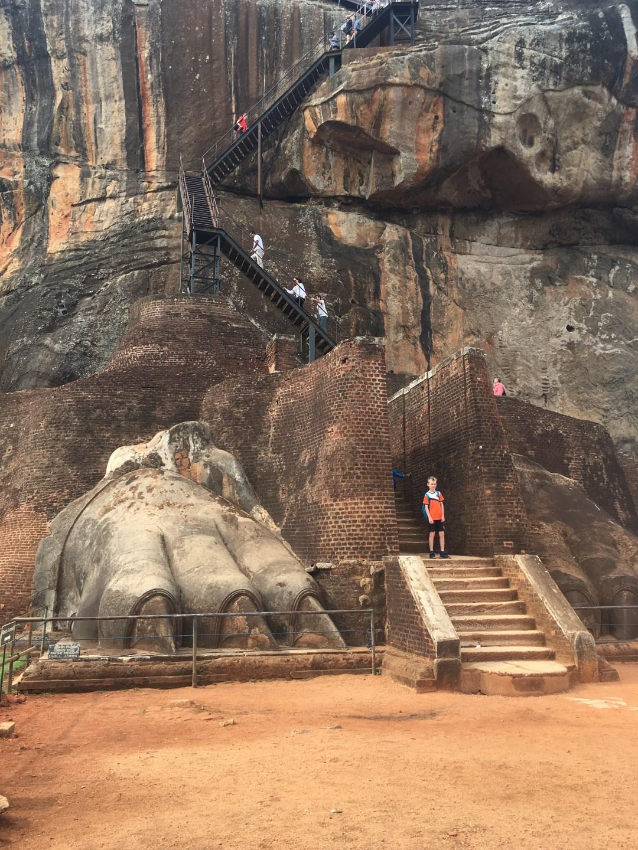 Climbing Sigiriya in Sri Lanka's Cultural Triangle