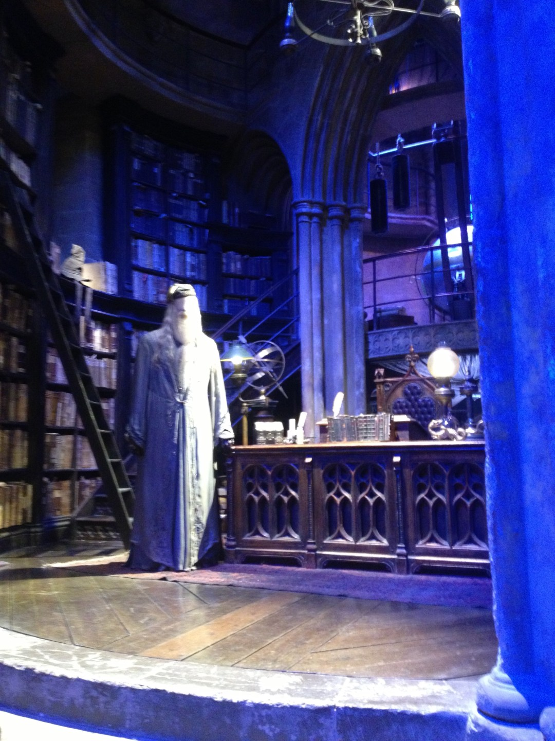 Dumbledore's office - Warner Brothers Studio: The Making of Harry Potter Tour