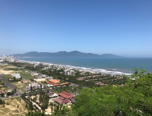 Da Nang Vietnam view from Marble Mountains