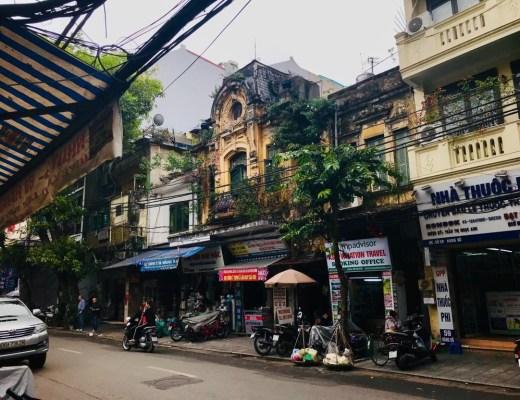 Hanoi Old Town Vietnam