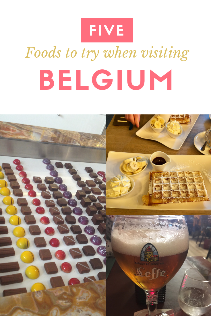 Foods to try when visiting Belgium