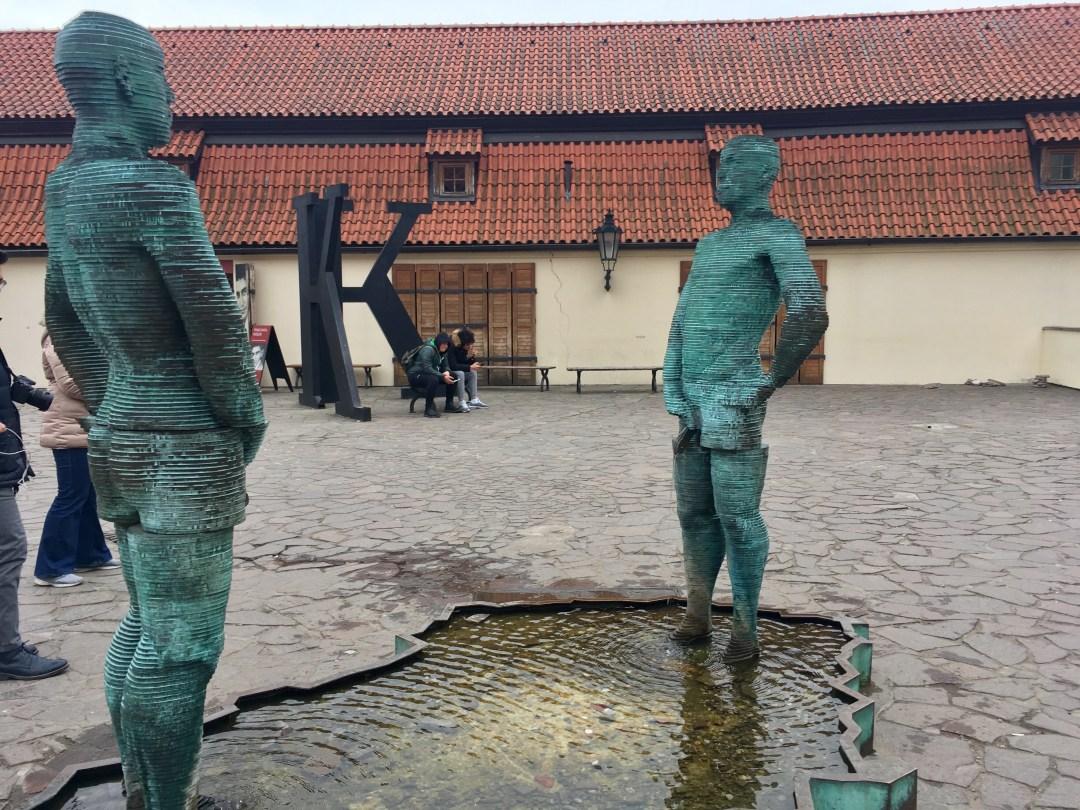 David Ceny Piss Statue