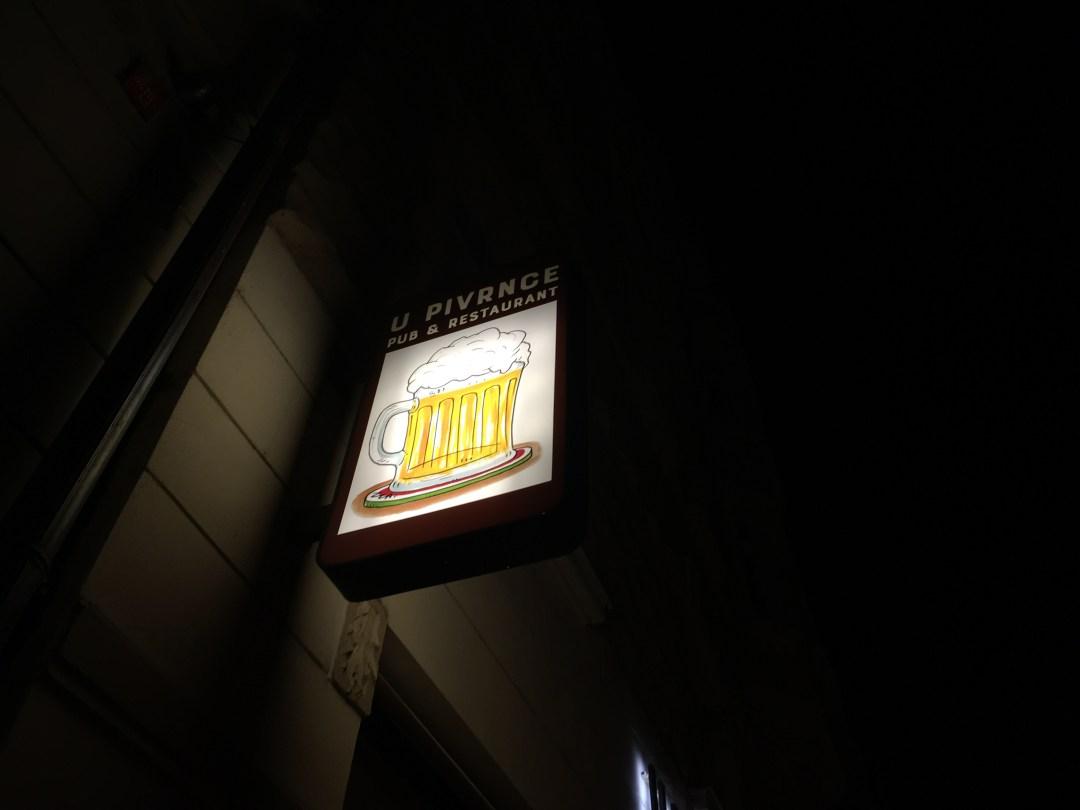 U Pivrnce Pub and Restaurant Prague