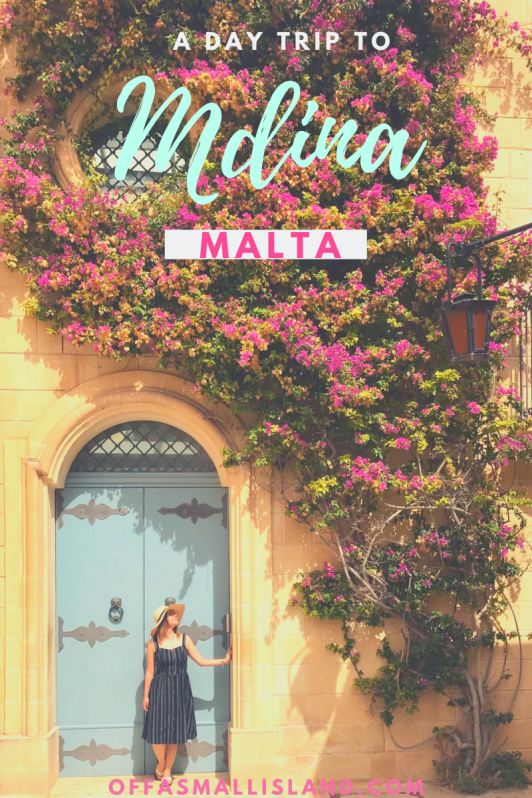 Off a Small Island - A Day Trip to Mdina, Malta