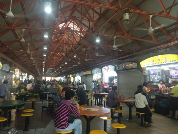 Maxwell Food Centre Hawker Market in Singapore