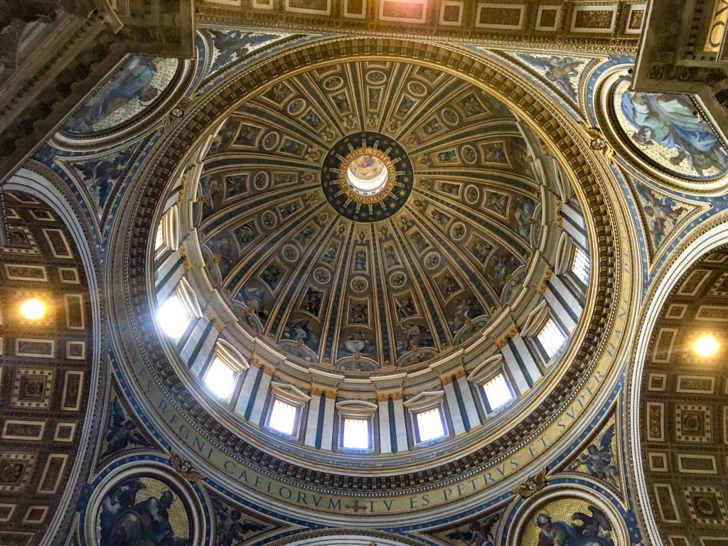 Dome in St Peter's Basilica, Vatican City