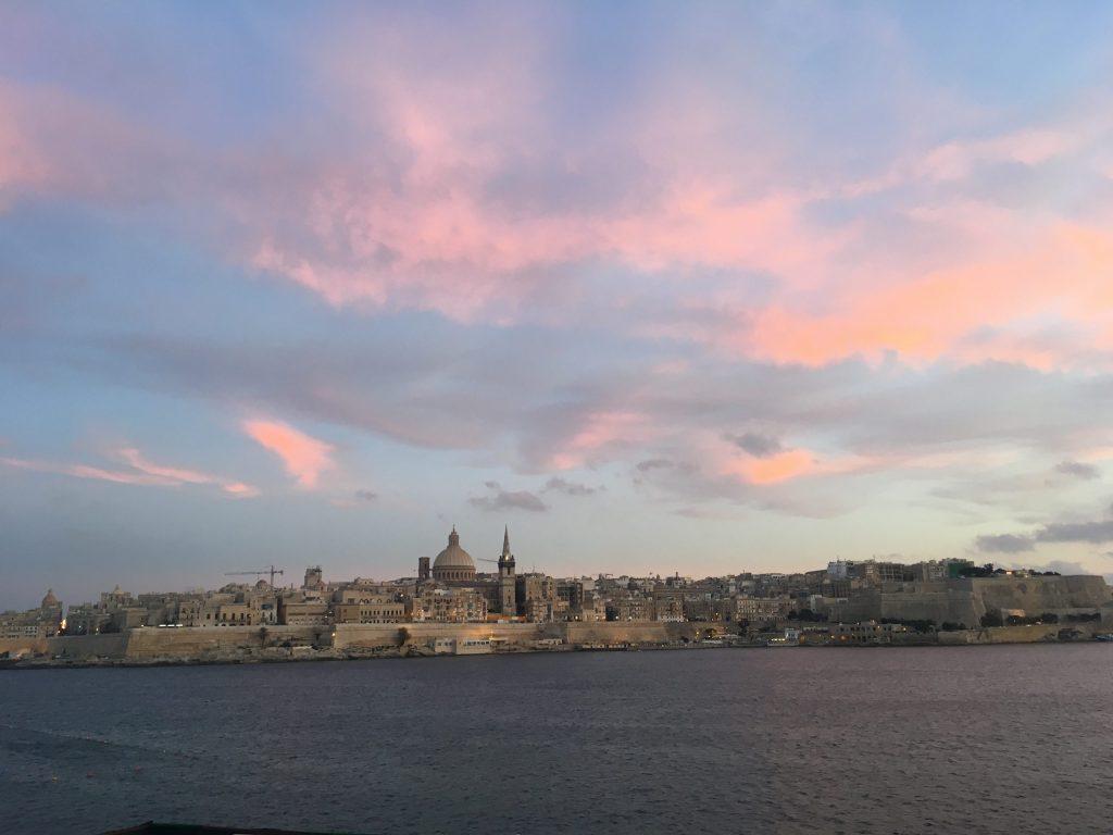 Valletta at Sunset